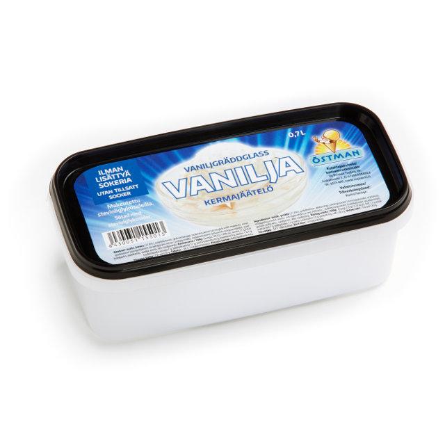 Vanilja ilman lisättyä sokeria 0,7 litraa